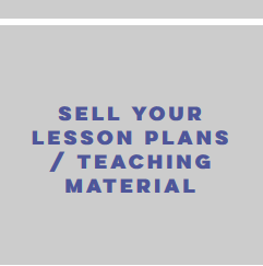 sell  your lesson plans